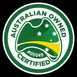 Australian Owned Logo - Blue Ocean Web Hosting