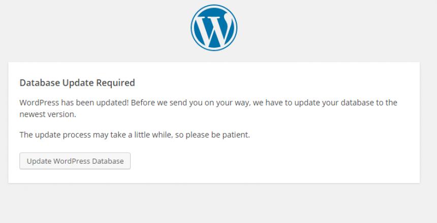 How do you update WordPress